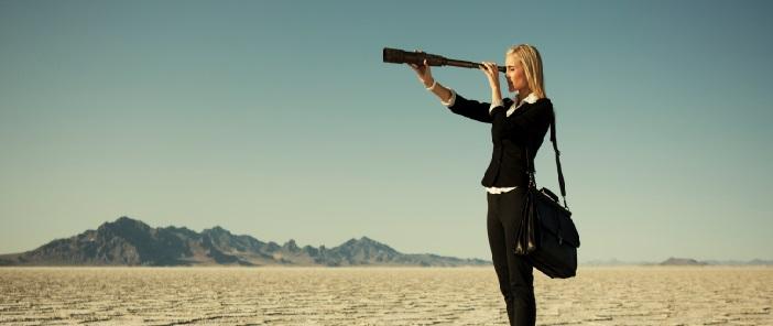 mulher no deserto
